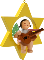 650/70/38, Angel with Guitar, in Star