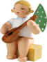 650/k/4a, Angel, Small, with Mandolin