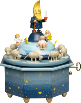 "5336/43A, Music Box ""Father Moon with Angels"", 