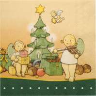 "526/22/Weihn, Paper Napkins ""The Magic of Christmas"""