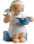 634/70/17, Marguerite Angel, Sitting, with Saucepan