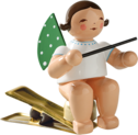 650/90/13, Angel with Baton, on Clip