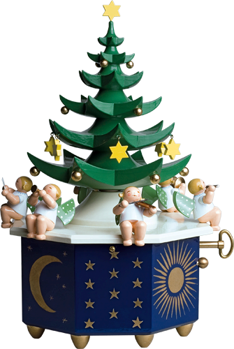 "Music Box ""Christmas Tree"", with 36-tone Music Works"