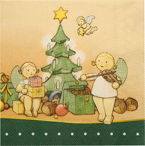 "Paper Napkins ""The Magic of Christmas"""