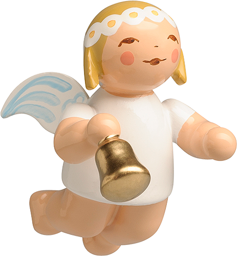 Little Suspended Angel, with Bell