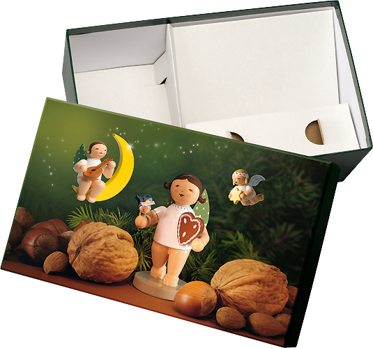 "Gift Box ""Angel with Gingerbread"""