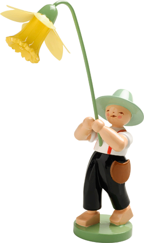 Boy with Daffodil