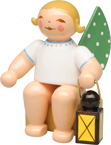 Calendar Figurine 2019, Angel with Lantern