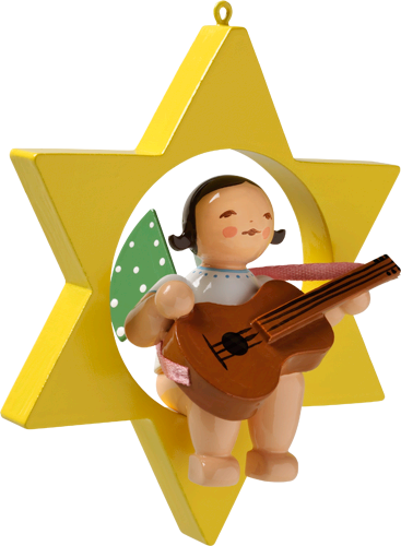 Angel with Guitar, in Star